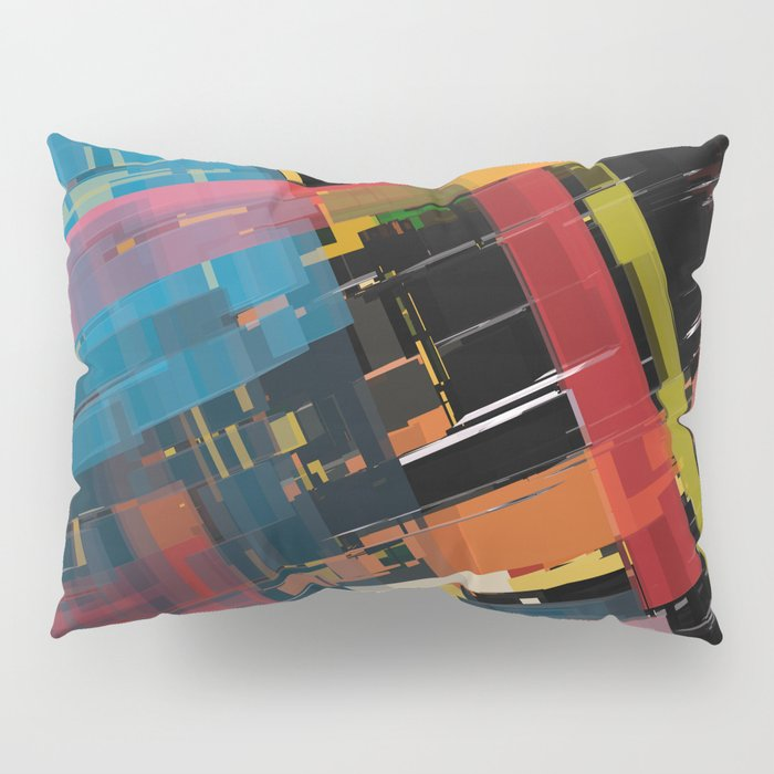 Abstract Composition 608 Pillow Sham