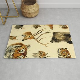 The Great and Small Game of Europe, Western and Northern Asia and America Rug