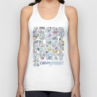 cabin pressure Tank Tops featuring Cabin Pressure - From A to Z by enerjax