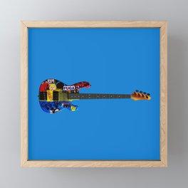 Bass Framed Mini Art Print