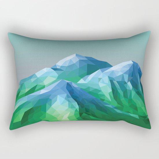 Night Mountains No. 40 Rectangular Pillow