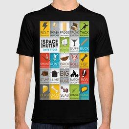 MST3K Space Mutiny - Dave Ryder Names - Art Print Wall Decor Typography Inspirational Poster Motivat T-shirt