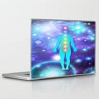 chakra Laptop & iPad Skins featuring Chakra Universe by NatalieCatLee