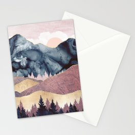 Mauve Vista Stationery Cards