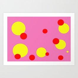 Pokey Dots Art Print