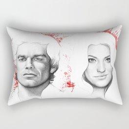 Debra Morgan Rectangular Pillow