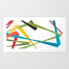 Banners Art Print