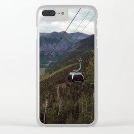 Telluride gondolas Clear iPhone Case