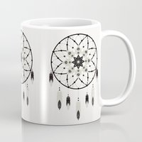 dreamcatcher Mugs featuring Dreamcatcher by Bohemian Gypsy Jane