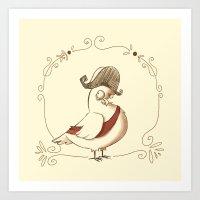 pigeon empire Art Print