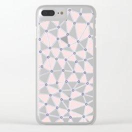 Seg African Blush 2 Clear iPhone Case