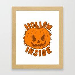 Hollow Inside Framed Art Print