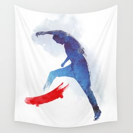 no-comply Wall Tapestry