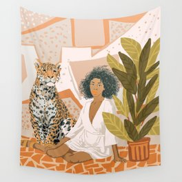 House Guest Wall Tapestry