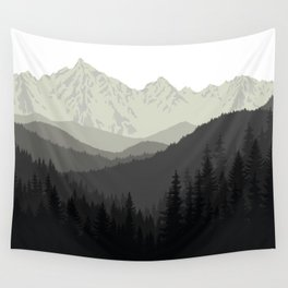 Mountain Tapestry Wall Tapestry