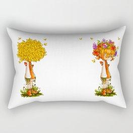 Soil-head Rectangular Pillow