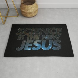 Science is the New Jesus Rug