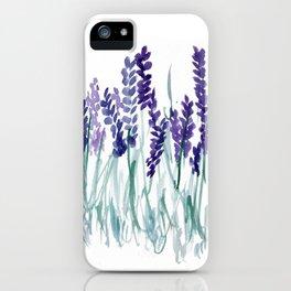 Larkspurs iPhone Case