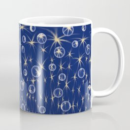 Falling Stars and Bubbles Coffee Mug
