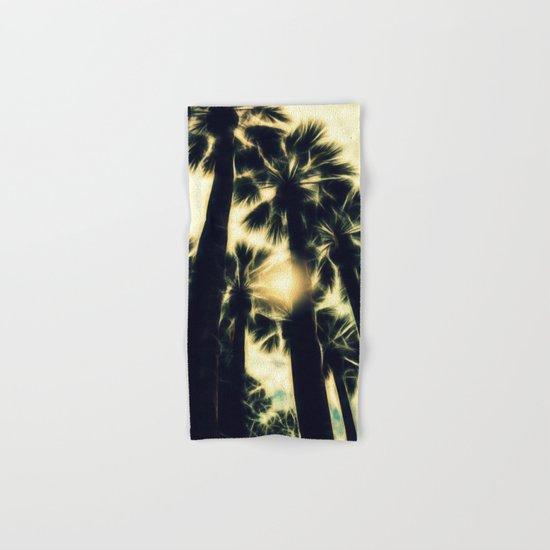 Palm Trees II Hand & Bath Towel
