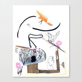 Eclipse Watchers Canvas Print