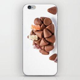 the cuberdons chocolate iPhone Skin