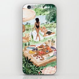 Picnic In the South of France iPhone Skin