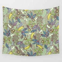 go green in spring Wall Tapestry