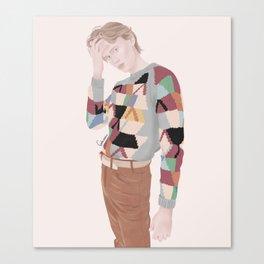 Henrik Holm | skam cast Canvas Print