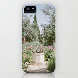 Garden at Gethsemane - Holy Land Fine Art Film Photography iPhone Case