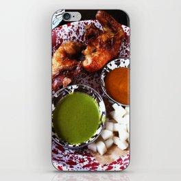 Beer can chicken iPhone Skin