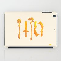 final fantasy iPad Cases featuring Final Fantasy IX by GIOdesign
