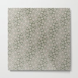 Undulation - cool Metal Print