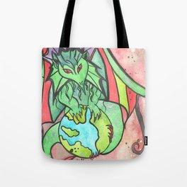 Earth Keeper Dragon Tote Bag