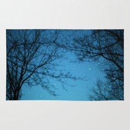 Starry Sky - Night Photography Shot Rug