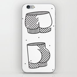 Spotted Patooties iPhone Skin