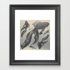 Devilfish Framed Art Print