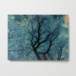 Moonlight Tree Metal Print
