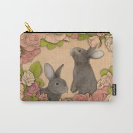 Rosie Rabbits Carry-All Pouch