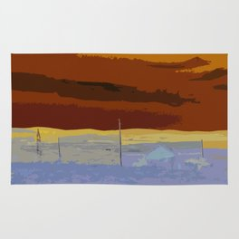 Beautiful Autumn Landscape Rug