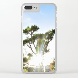 Shot in Japantown Clear iPhone Case