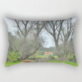 Green World II. Rectangular Pillow
