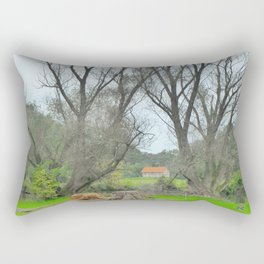 Green World II. Rectangular Pillow