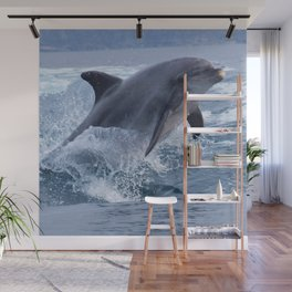 Bottenose dolphin Wall Mural
