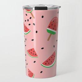 Summer Watermelon Ice Cream Travel Mug