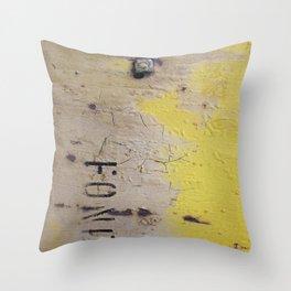 Fond Throw Pillow