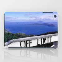 philippines iPad Cases featuring OFF LIMIT (Philippines) by Julie Maxwell
