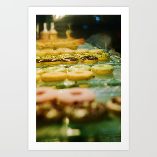 i like donut Art Print