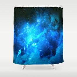 Lost Nebula Shower Curtain
