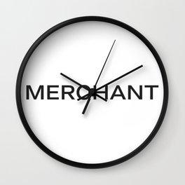 MERCHANT Wall Clock